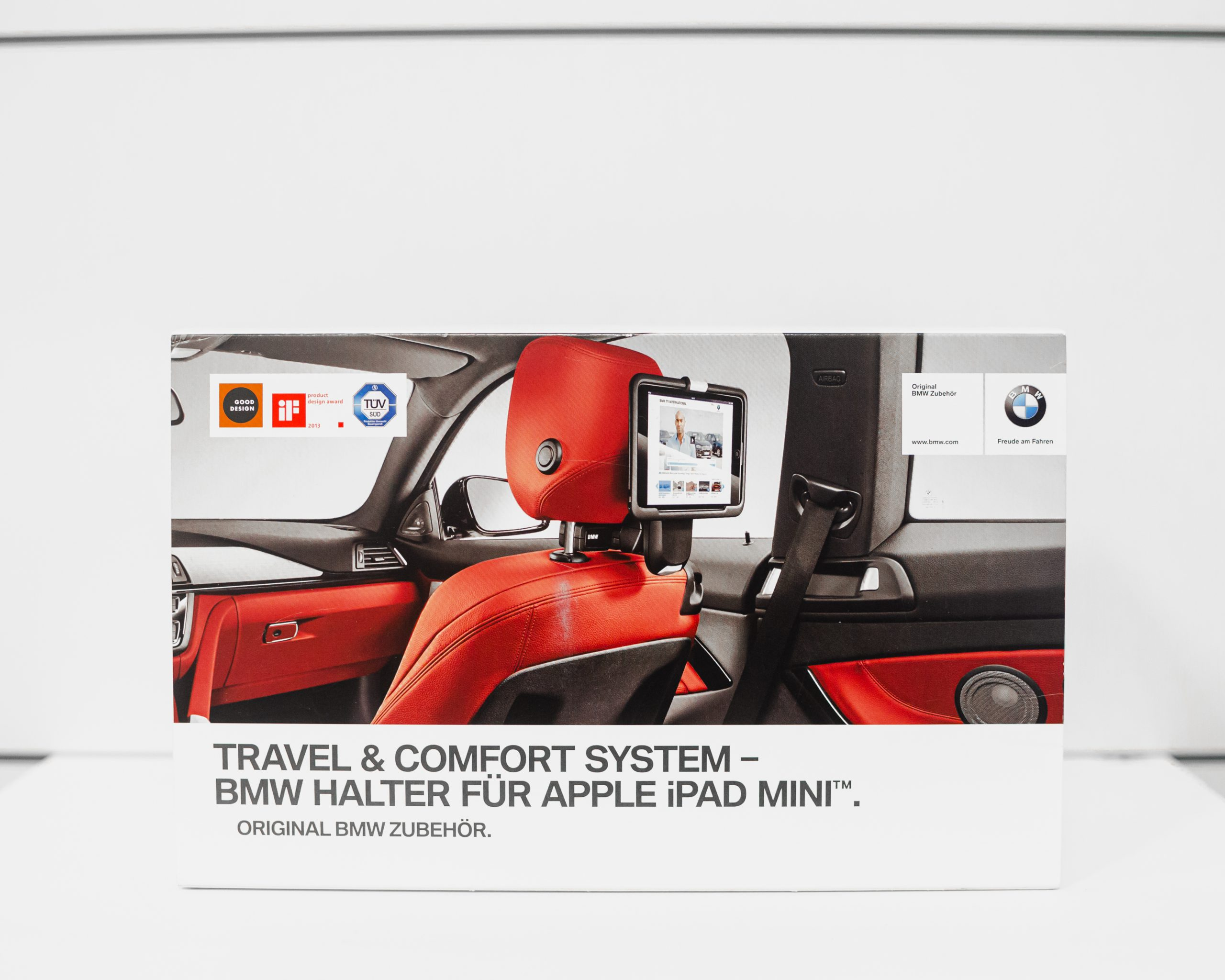 Travel & Comfort System – BMW Holder for Apple iPad MINI